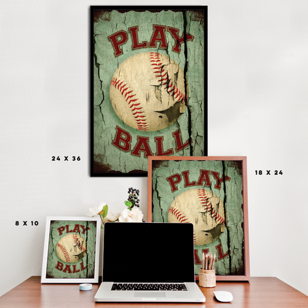 Play Ball - Vintage Baseball