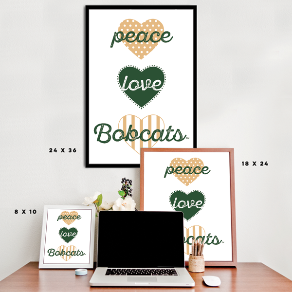 Peace, Love, Bobcats (Ohio University) - NCAA