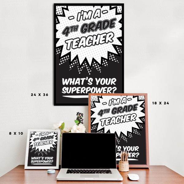 What's Your Superpower - 4th Grade Teacher