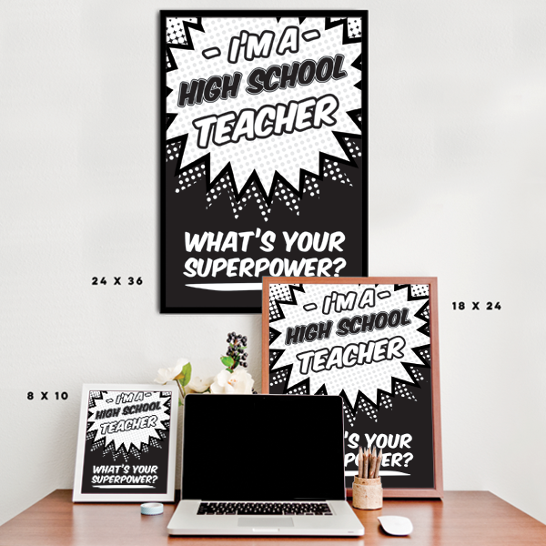 What's Your Superpower - High School Teacher