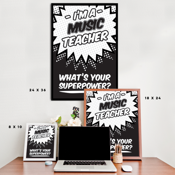 What's Your Superpower - Music Teacher