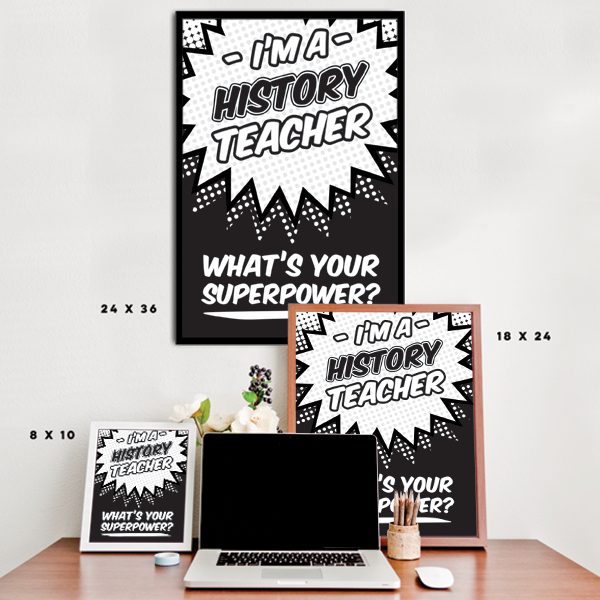 What's Your Superpower - History Teacher