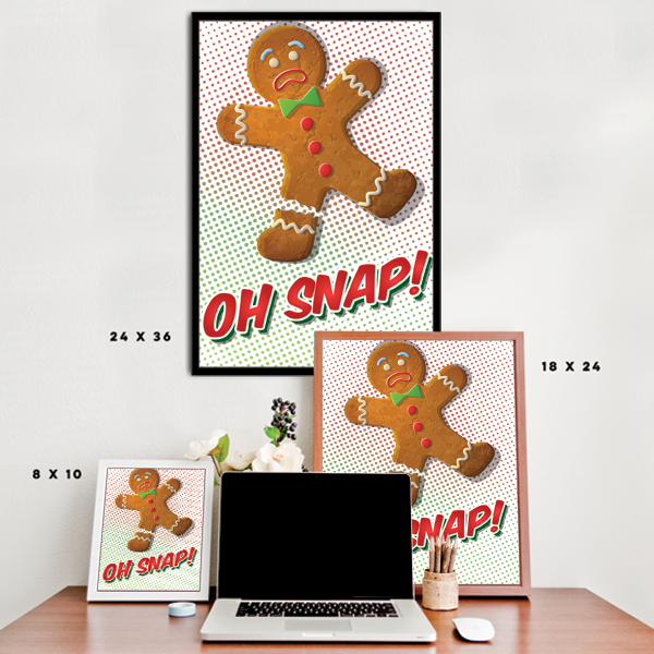 Oh Snap! - Gingerbread Man