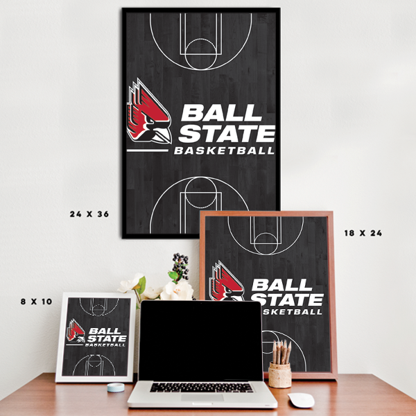 Ball State Cardinals - Basketball Court
