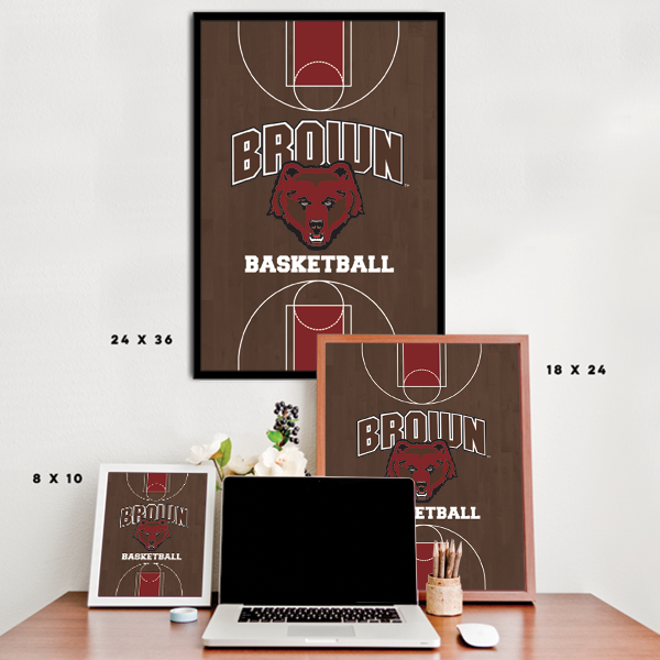 Brown University Bears - Basketball Court