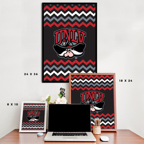 UNLV Rebels - Chevron