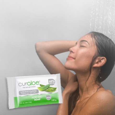 Psoriasis prevention - Shower in lukewarm water & use aloe vera based soap