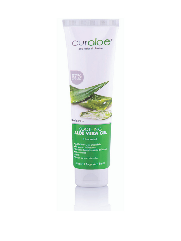 Best Aloe Vera Soothing Gel in South Africa- Curaloe Aloe Vera Soothing Aloe Vera Gel 150 ml