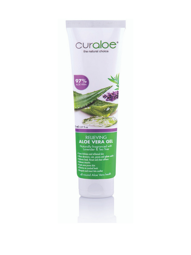 Curaloe Relieving Aloe Vera Gel 150 ml