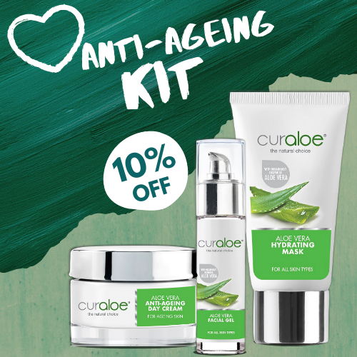 Anti-Ageing Kit (Anti-Ageing Day Cream / Facial Gel / Hydrating Mask)