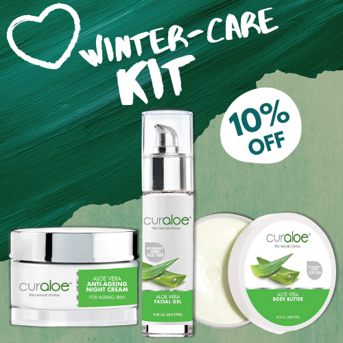 Winter Care Kit (Anti-Ageing Night Cream / Facial Gel / Body Butter)