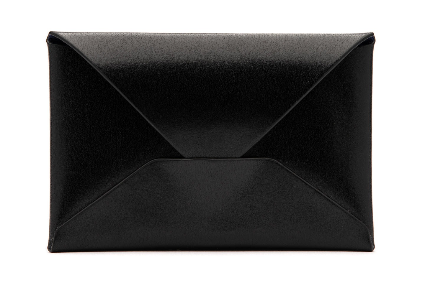 AK Salz Card Envelope in Vegetable Tanned Rodeo Black Leather