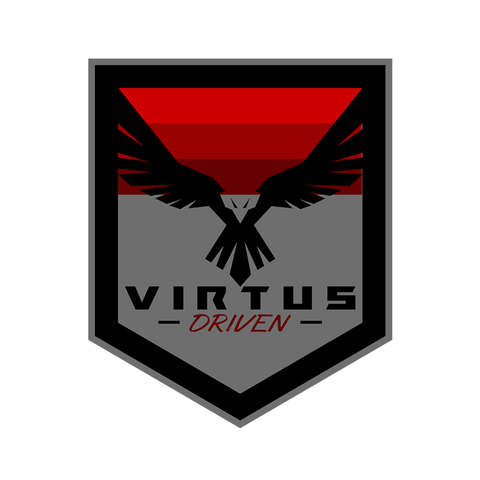 VIRTUS DRIVEN Die Cut Stickers