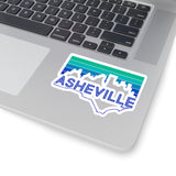 Asheville City State Kiss-Cut Stickers