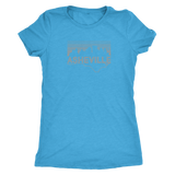 AVL Threads State Asheville Skyline Women's Triblend Tee