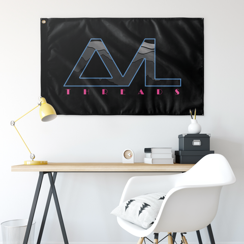 "AVL Threads Wall Flag - 36""x60"""