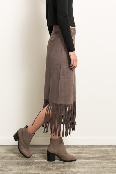Mercedes Fringe Skirt