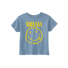 Smiley Toddler Tee - Blue