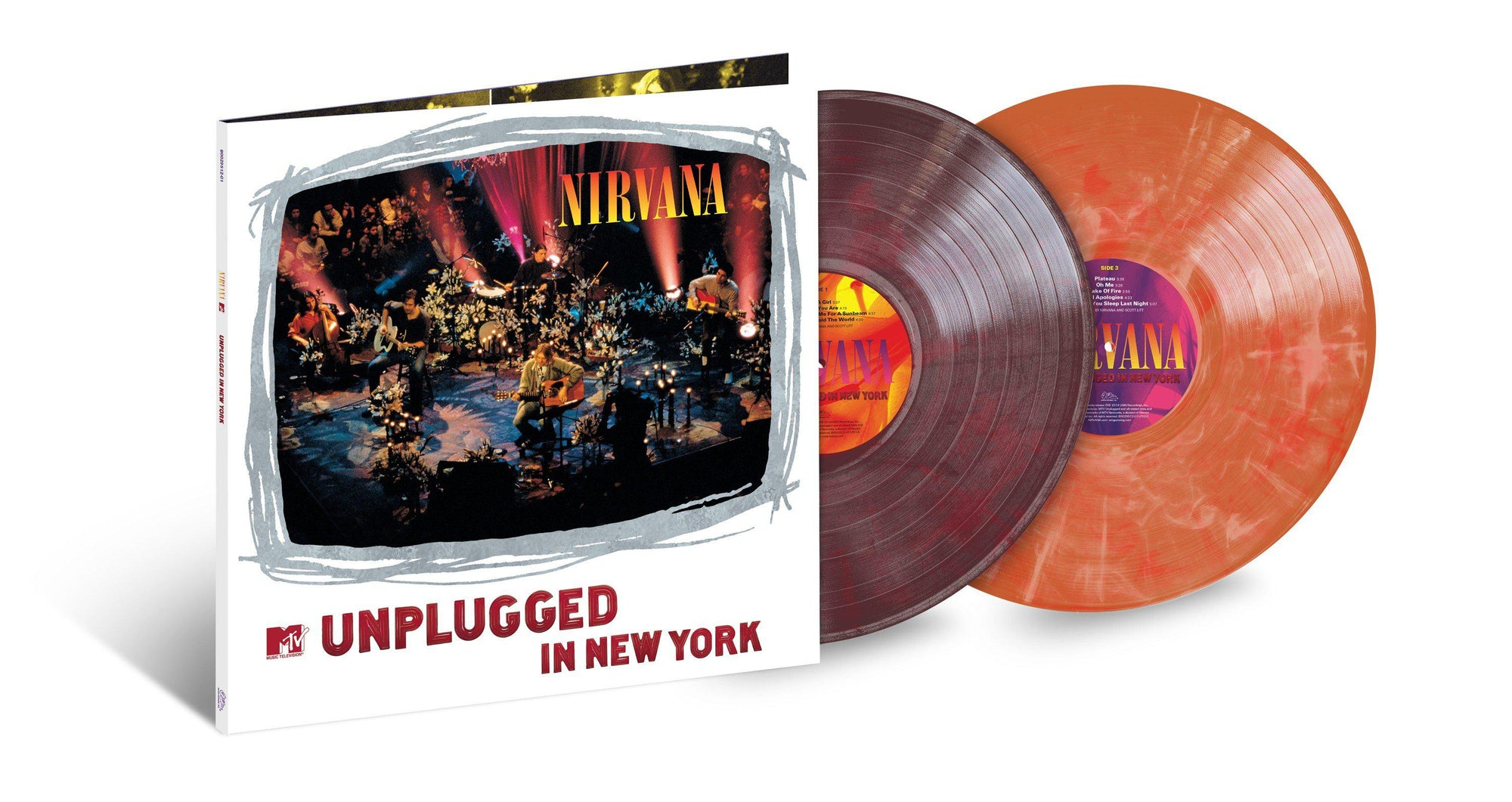 Unplugged Limited Edition Colored 2xLP