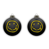 Smiley Ornament - Black