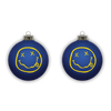 Smiley Ornament - Blue