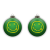 Smiley Ornament - Green
