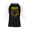 Smiley Raglan - Nirvana