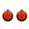 Smiley Ornament - Red