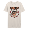 Broken Cherub Natural Tee-Nirvana