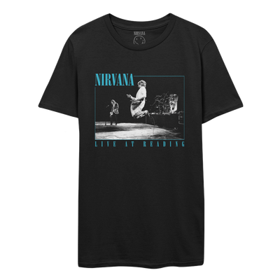 Live at Reading Black Tee-Nirvana