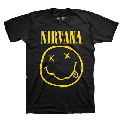 Smiley Tee - Nirvana