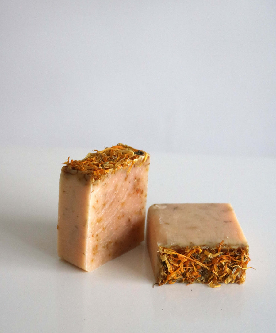 Fresh Marigold Butter Soap Duo
