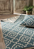 large bohemian rug teal blue
