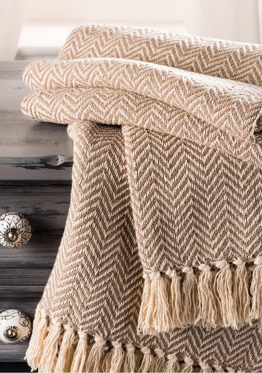 Autumn Haze Throw