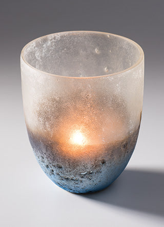 Ombre Round Tealight Holder