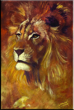"""Lion"" Canvas"
