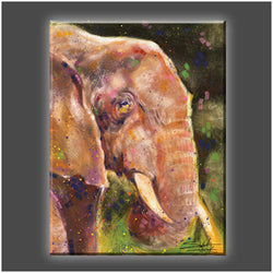 """Elephant"" Canvas"
