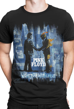 "Pink Floyds ""Wish You Were Here BLK"" T-Shirt"