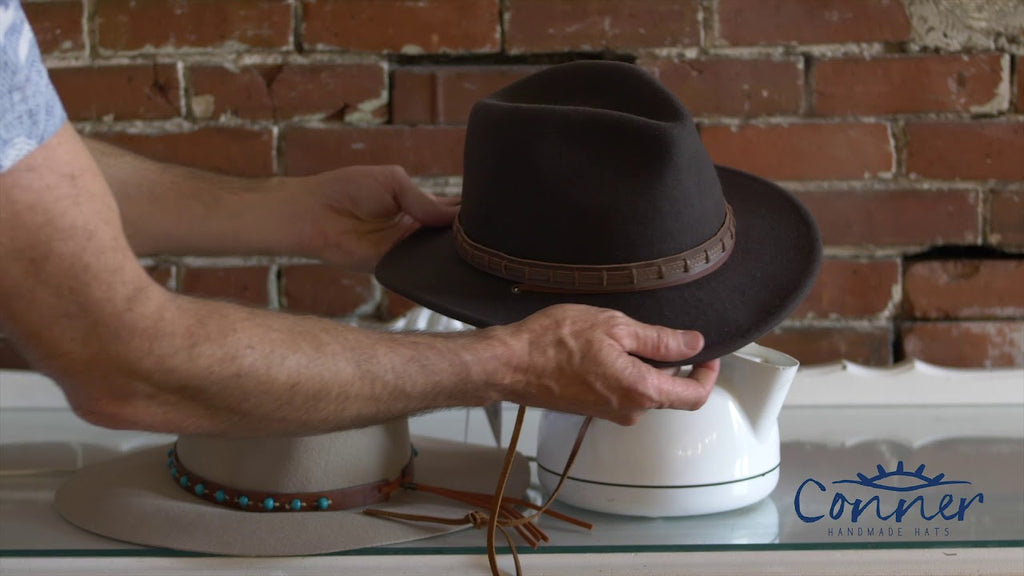 How to Steam & Reshape a Felt Hat
