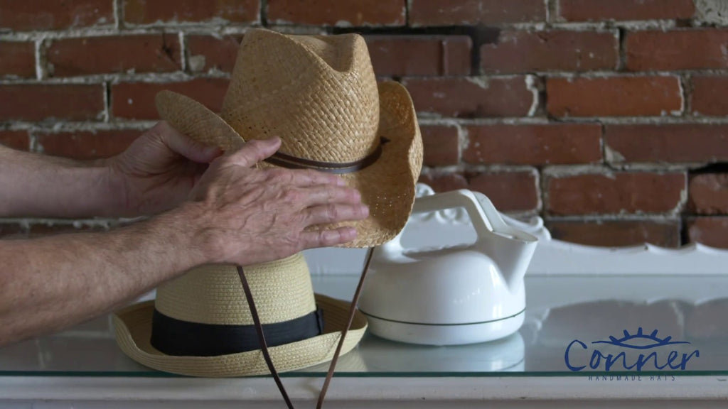 How to Steam & Reshape a Straw Hat