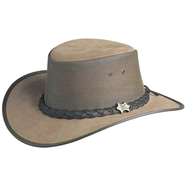 Conner Hats Aussie Hats Moose / Small BC Hats Cool as a Breeze Australian Leather Hat