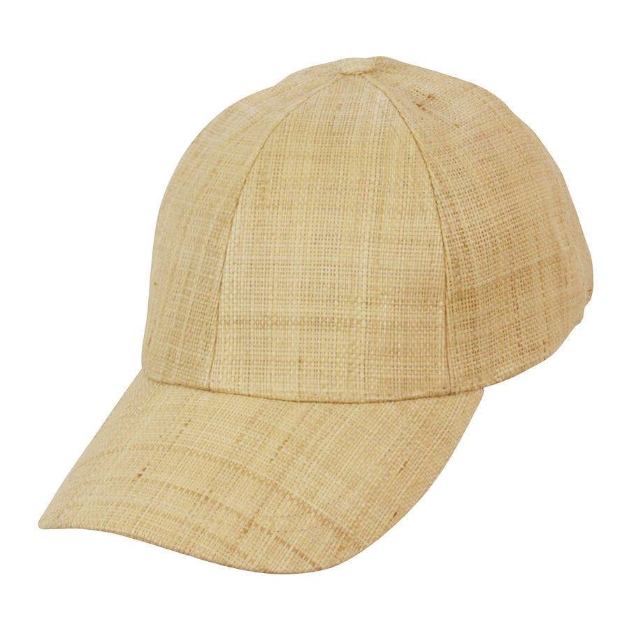Conner Hats Baseball Caps Natural / One Size Paradise Organic Raffia Cap