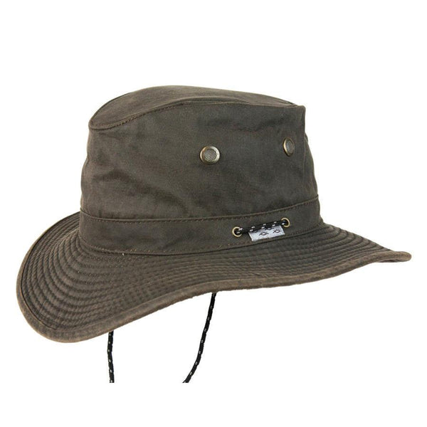 Conner Hats Boating Hats Brown / Small Murchasin River Waterproof Hat