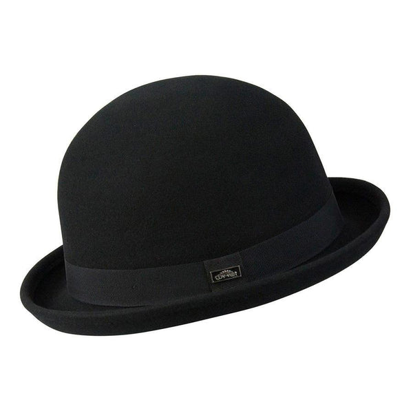 Conner Hats Bowler/Derby Hats Black / Small Bowler (Derby) Wool Hat