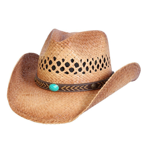 5d9973ce1a02d Easy Going Western Corset Hat – Conner Hats