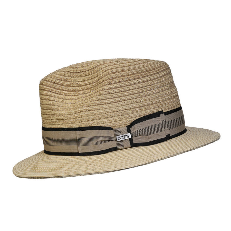 Conner Hats Fedoras Natural / Small/Medium Daniel Sewnbraid Fedora