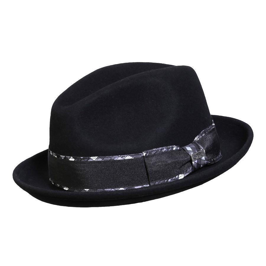 Conner Hats Fedoras Black / Small Jadson Wool Fedora