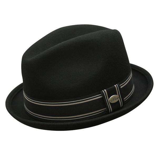 Conner Hats Fedoras Black / Small Street Car Australian Wool Fedora