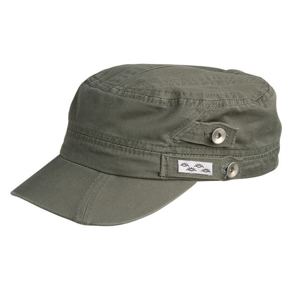 Conner Hats Field Caps Olive / One Size Reduce Organic Cotton Army Fatigue Cap