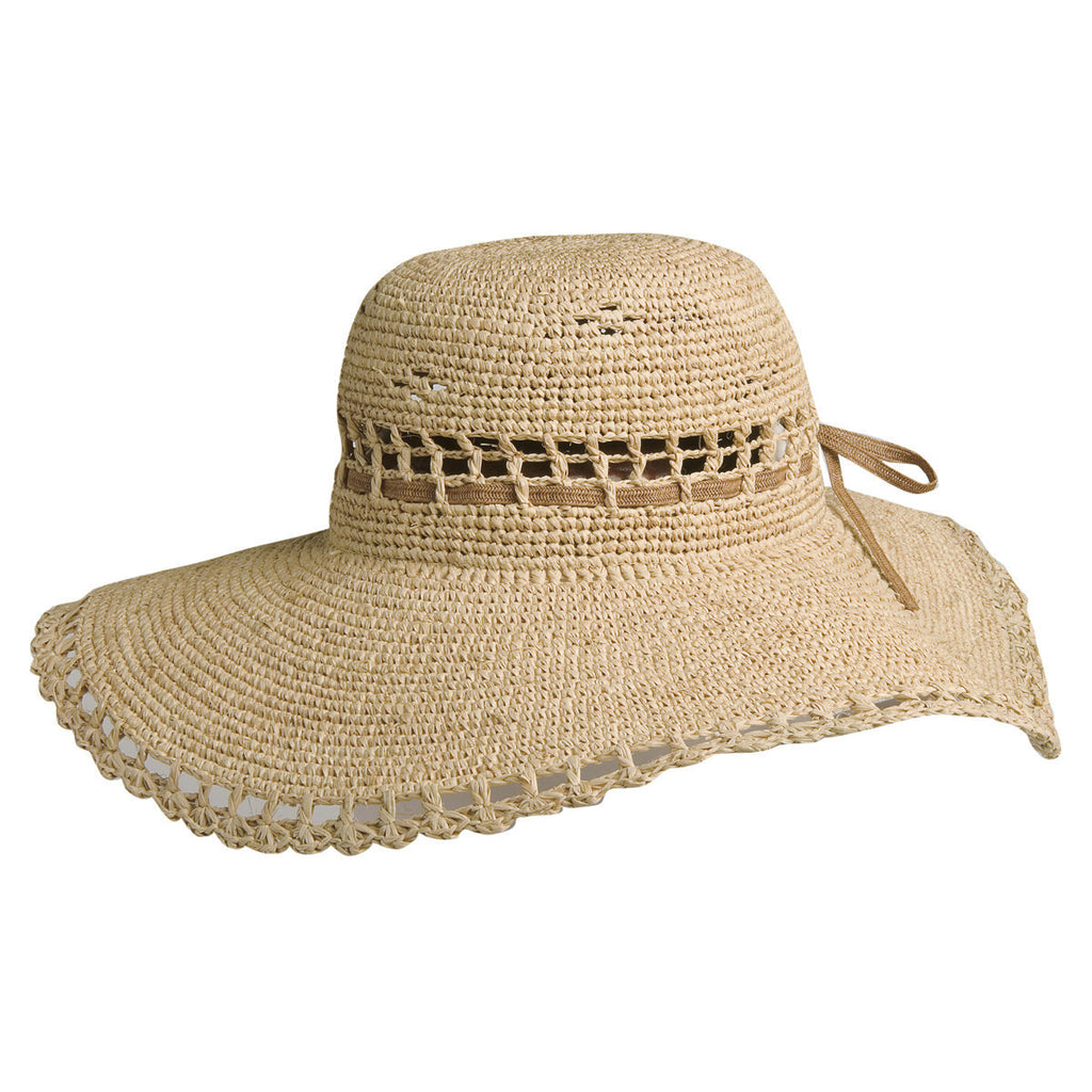 Conner Hats Floppy Hats Natural / One Size Amy Summer Womens Raffia Hat